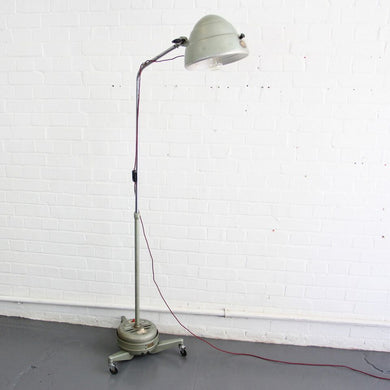 1950s Floor Standing Medical Lamp By Hanovia