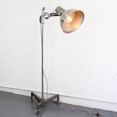1930s Sollux Floor Standing Medical Lamp