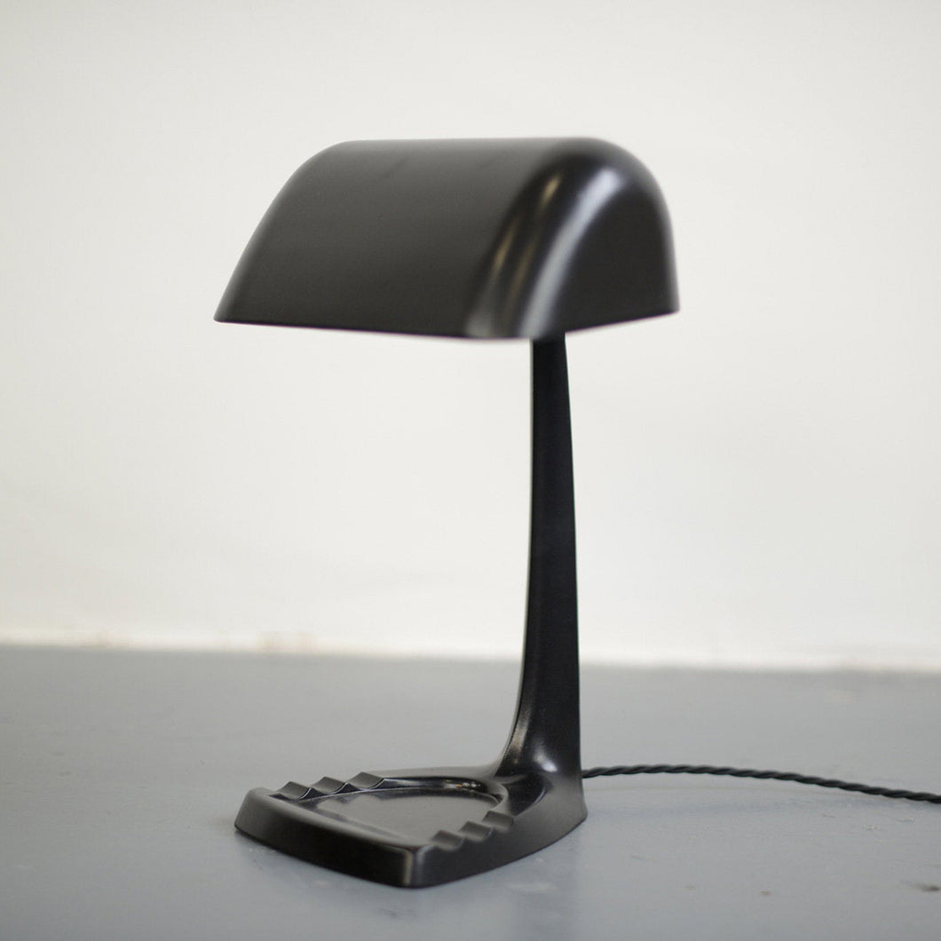 English Art Deco Desk Lamp Circa 1930s