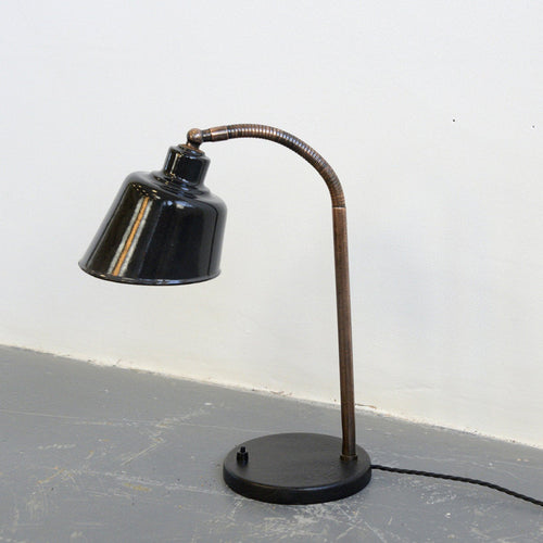 Desk Lamp By Bunte & Remmler BUR Circa 1930s