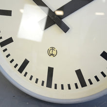 Load image into Gallery viewer, Large German Factory Clock Circa 1950s