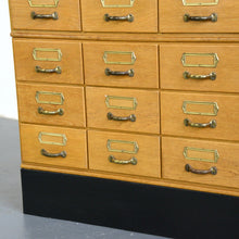 Load image into Gallery viewer, Oak Filing Drawers Circa 1950s