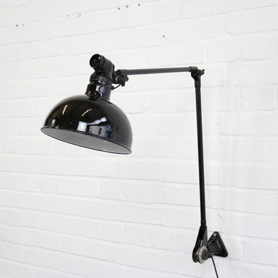 1930s Large Industrial Task Lamp By Ernst Radermacher