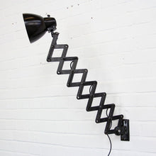 Load image into Gallery viewer, 1950s Industrial Scissor Lamp By Marianna Brandt For Kandem