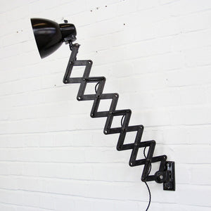 1950s Industrial Scissor Lamp By Marianna Brandt For Kandem