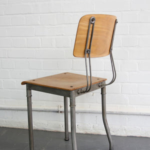 1920s Modernist Robert Wagner Rowac Prototype Industrial Chair