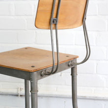 Load image into Gallery viewer, 1920s Modernist Robert Wagner Rowac Prototype Industrial Chair