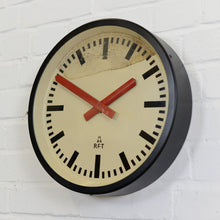 Load image into Gallery viewer, East German Paper Factory Clocks Circa 1960s