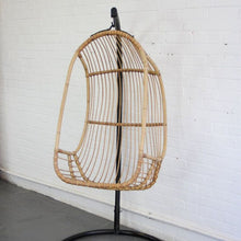 Load image into Gallery viewer, 1950s Mid Century French Rattan Swing Chair