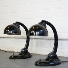 Load image into Gallery viewer, 1930s Model 11126 Bakelite Desk Lamps By Eric Kirkman Cole