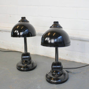1930s Model 11126 Bakelite Desk Lamps By Eric Kirkman Cole
