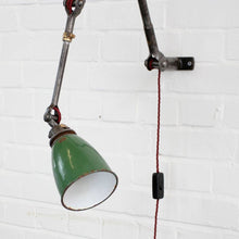 Load image into Gallery viewer, 1930s Wall Mounted Industrial Task Lamp By Dugdills
