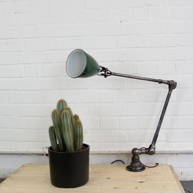 1920s Wall Mounted Industrial Task Lamps By Dugdills