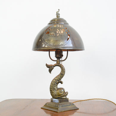 Arts & Crafts Table Lamp Circa 1890