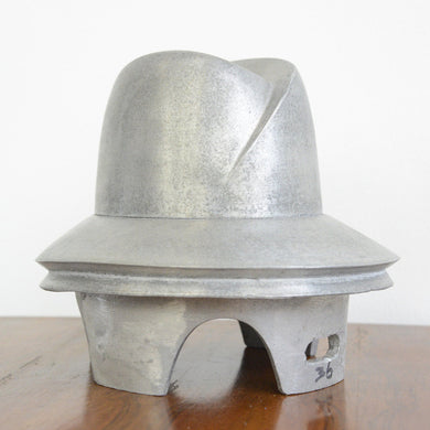 Cast Aluminium Hat Forms Circa 1930s-1