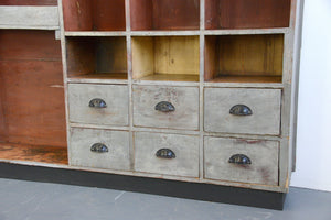 Early 20th Century Rustic French Storage Cabinet