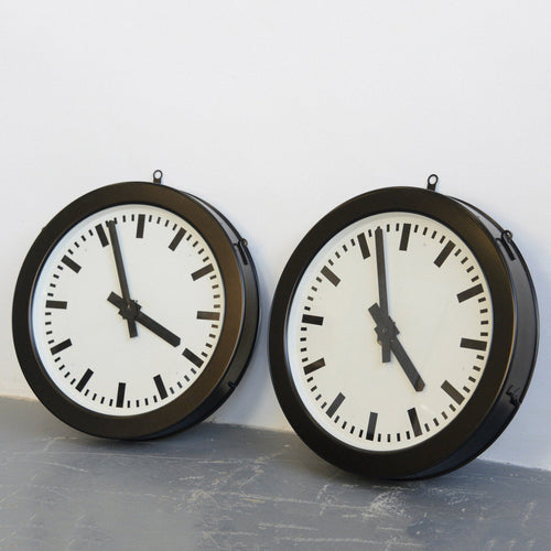 Factory Clocks By Bohmeyer Circa 1930s