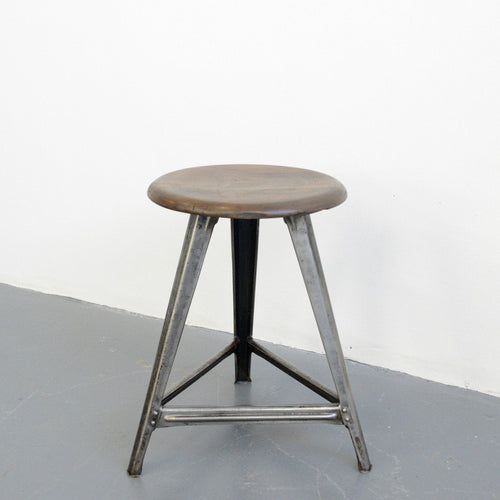 German Post Office Stool By Rowac Circa 1930s