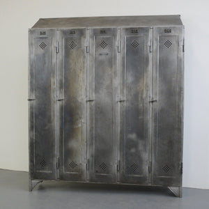 Industrial Lockers By Otto Kind Circa 1920s