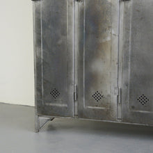 Load image into Gallery viewer, Industrial Lockers By Otto Kind Circa 1920s