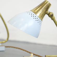 Load image into Gallery viewer, Italian Bedside Lamps By Stilnovo Circa 1950s