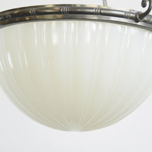 Load image into Gallery viewer, Jefferson Moonstone Pendant Light Circa 1920