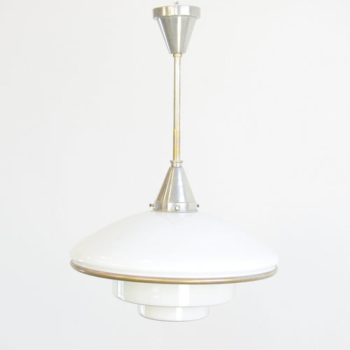 Large Sistra Pendant Light By Otto Muller 1930s