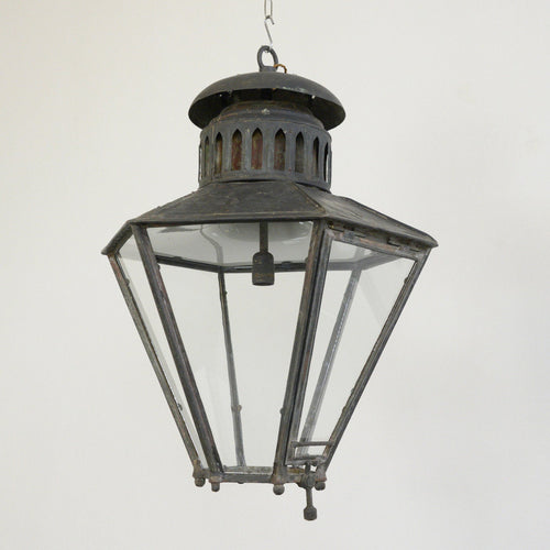 Large Victorian Lantern By Bray & Co Leeds