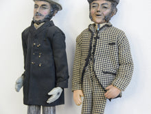Load image into Gallery viewer, Late 19th Century Folk Art Figures