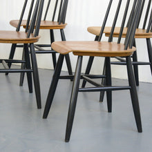 Load image into Gallery viewer, Mid Century Dining Chairs By Ilmari Tapiovaara Circa 1960s