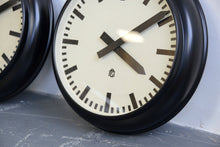 Load image into Gallery viewer, Modernist German Office Clocks Circa 1930s