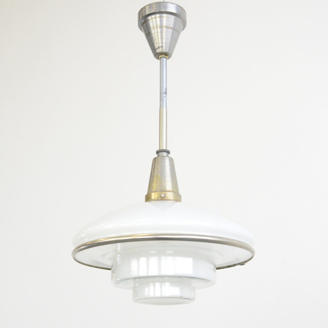 Sistra Pendant Light By Otto Muller 1930s
