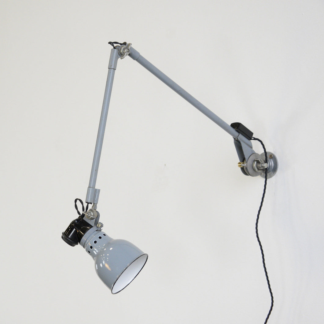 Wall Mounted Task Lamp By Rademacher Circa 1930s