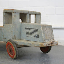 Load image into Gallery viewer, Large 1920s Wooden Children's Toy Truck