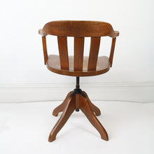 Load image into Gallery viewer, Mid Century Captains Chair