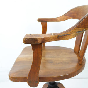 Mid Century Captains Chair