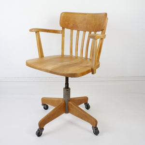 Mid Century Captains Chair by Stoll Giroflex
