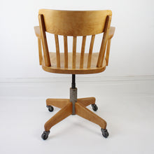 Load image into Gallery viewer, Mid Century Captains Chair by Stoll Giroflex
