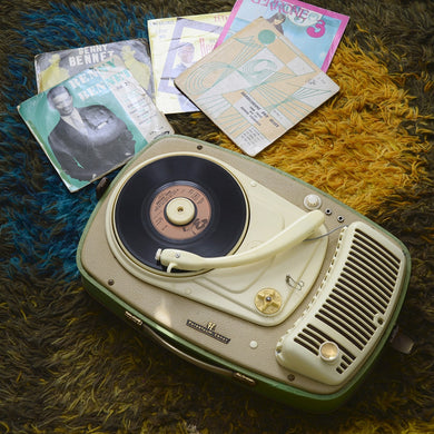 Vintage 1950s Record Player 'PE Perpetuum Ebner' - Display Only