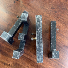 Load image into Gallery viewer, TENT - Vintage Metal Shop Letters