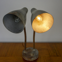 Load image into Gallery viewer, American Double Gooseneck Lamp C.1930s