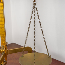 Load image into Gallery viewer, H M Stanley Brass Balance Scales C.1885