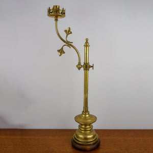 Brass Students Height Adjustable Candle Lamp