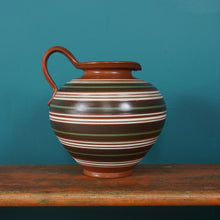 Load image into Gallery viewer, CARSTENS STRIPED VASE 109 / 25 WEST GERMAN