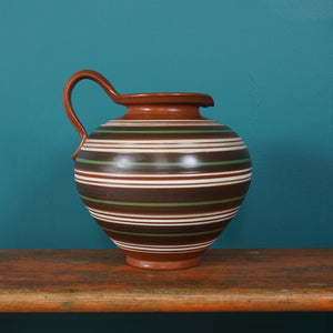 CARSTENS STRIPED VASE 109 / 25 WEST GERMAN