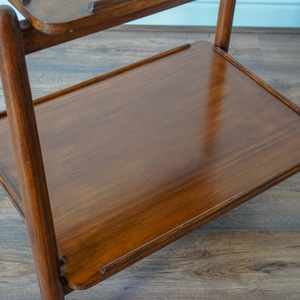 Teak White & Newton Drinks Trolley