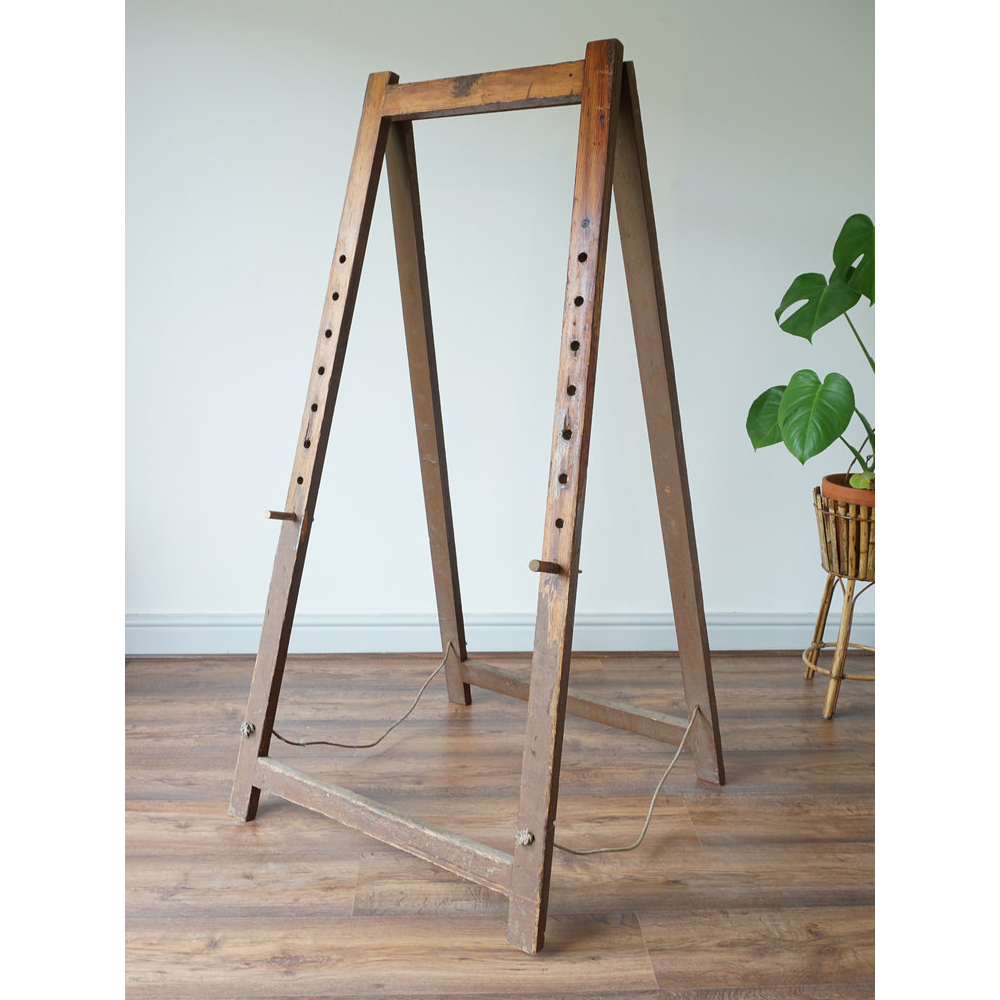 Pitch Pine Large Artists Studio Easel