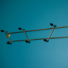 Load image into Gallery viewer, MID CENTURY WALL MOUNTED SPUTNIK COAT HOOK
