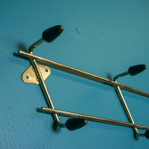 MID CENTURY WALL MOUNTED SPUTNIK COAT HOOK