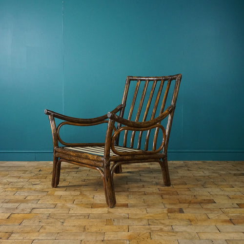 ANGRAVES BAMBOO ARMCHAIR